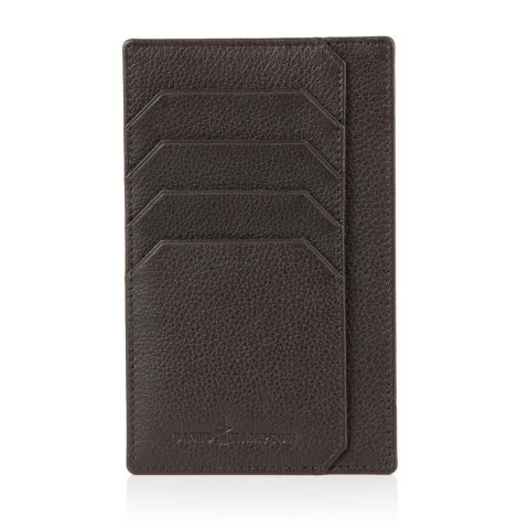Malvern leather note pad jotter back
