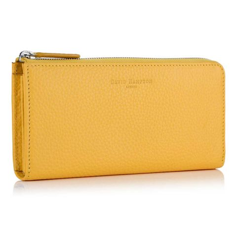 Richmond leather zip wallet