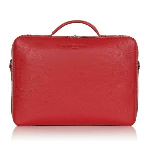 Richmond leather laptop briefcase